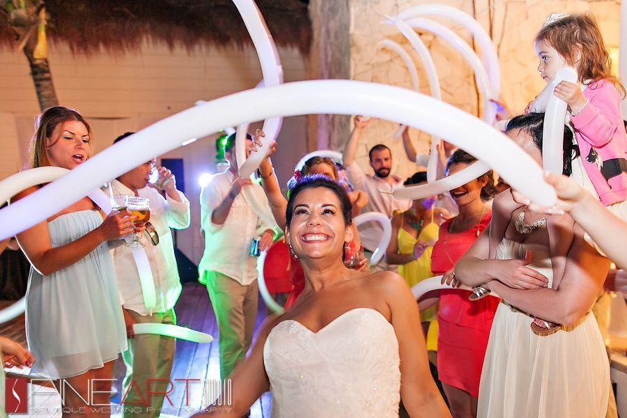 wedding party balloons
