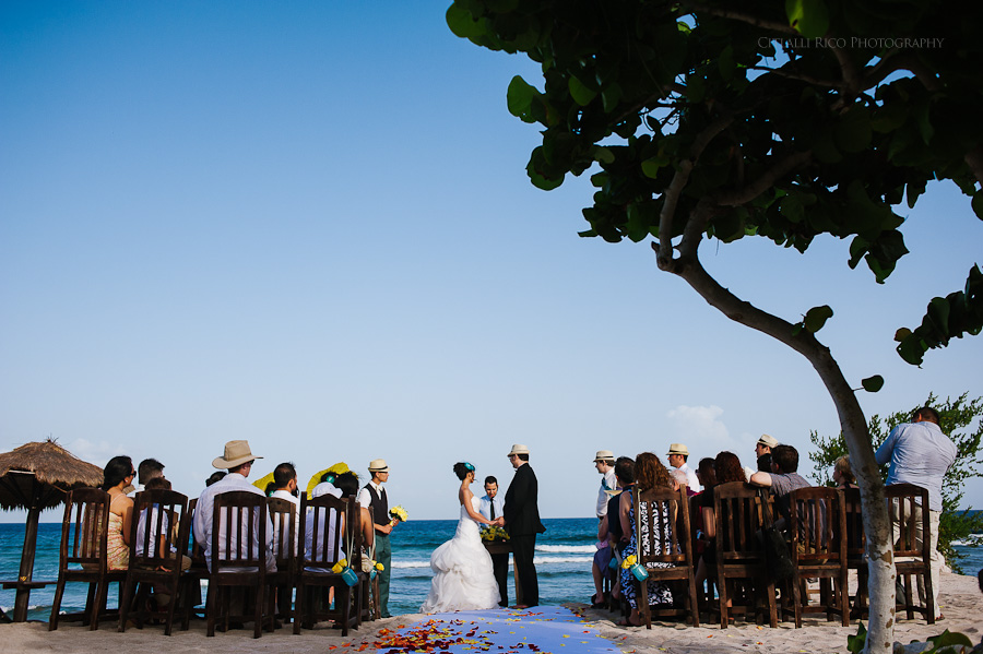 Blue Venado Beach Club Wedding
