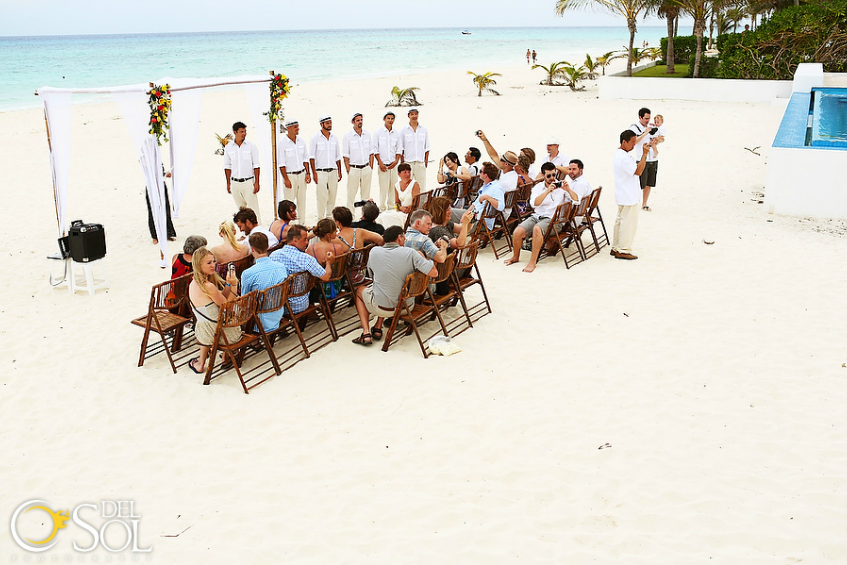 weddings in playa casa chaac playacar 3