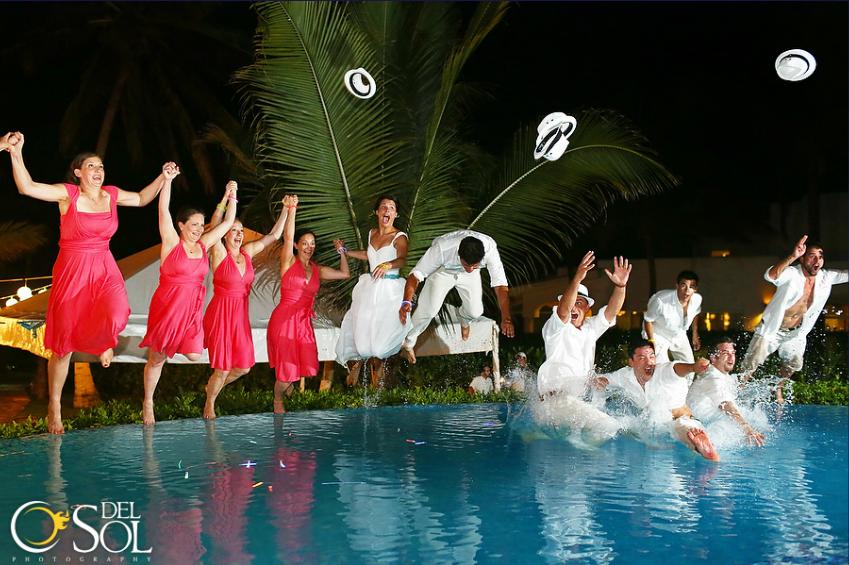 weddings in playa casa chaac playacar 11