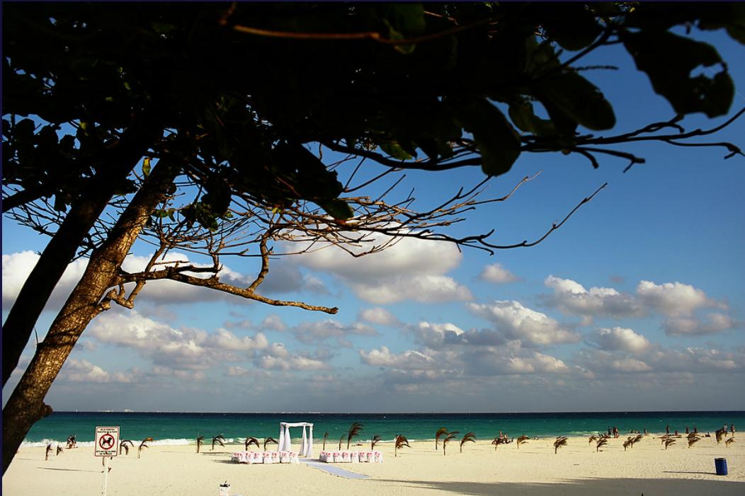 weddings in playa beach wedding