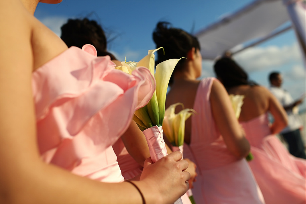 weddings in playa bridesmaids