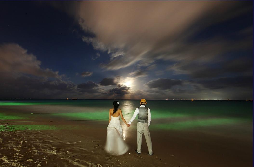 weddings in playa couple