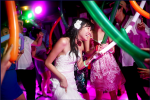 weddings in playa kool beach club baloon