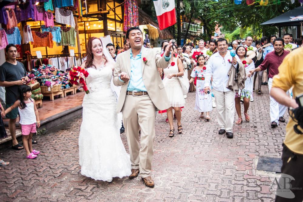 5th avenue wedding weddingsinplaya