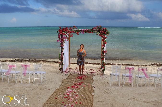weddings in playa beach wedding tulum