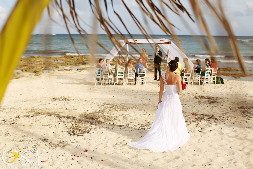 Sarah and David's wedding at Paamul Beach, Riviera Maya, Mexico.