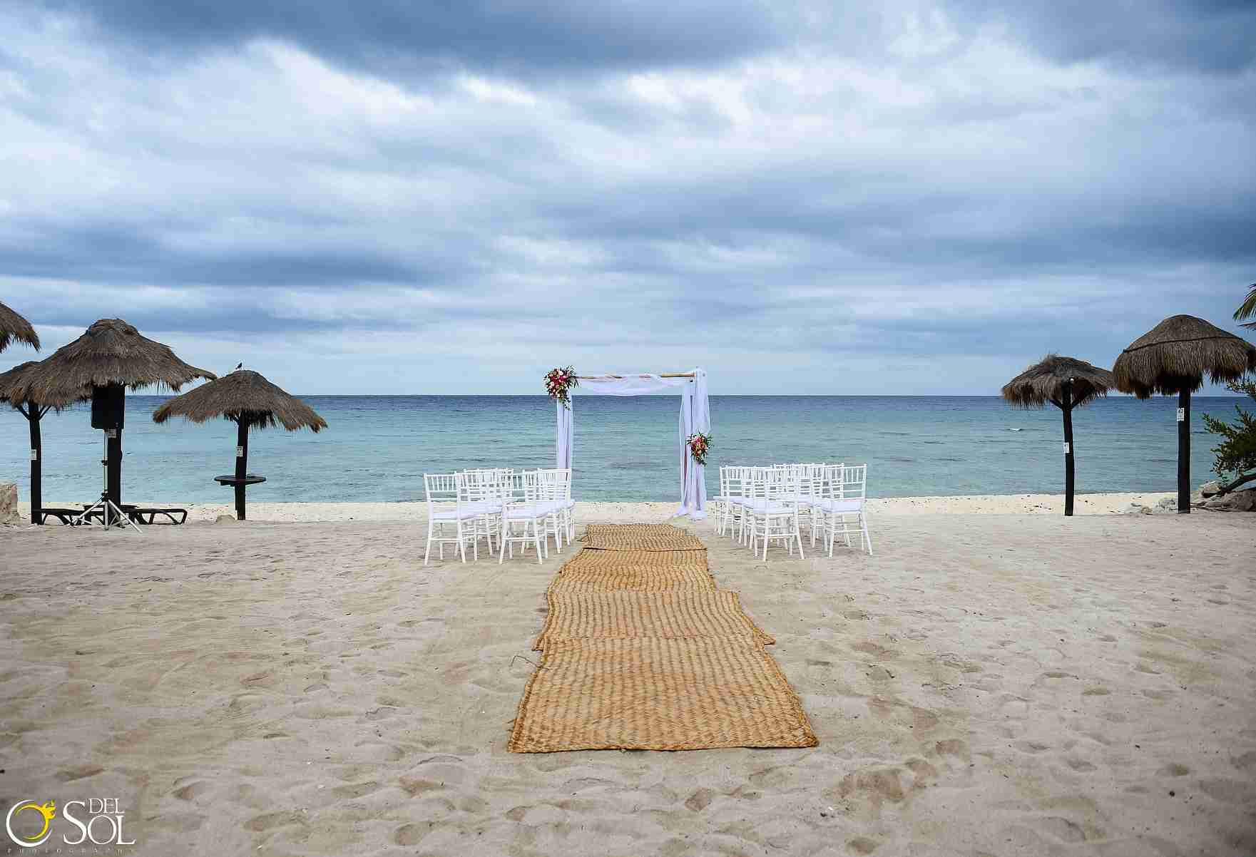 Brooke and Stephen , Beach Wedding at Blue Venado Beach Club, Pl
