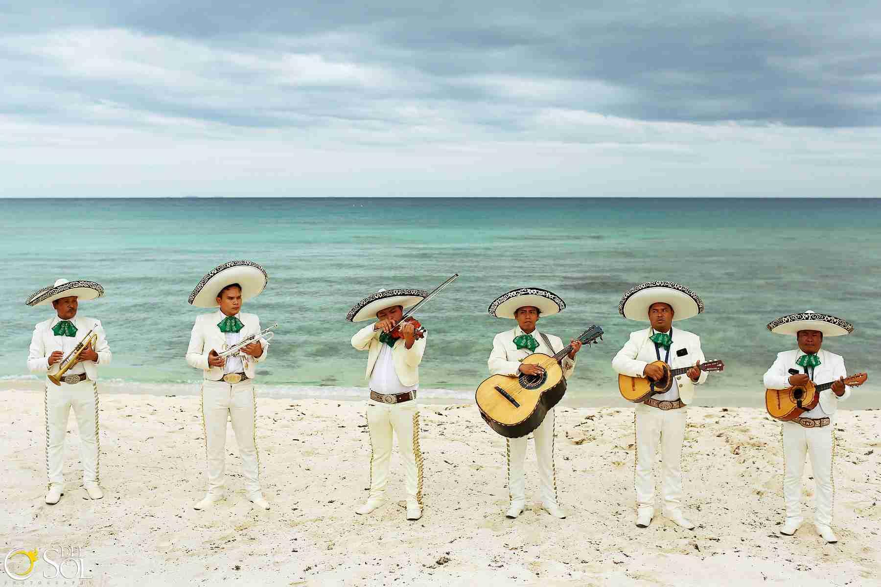 Brooke and Stephen , Beach Wedding at Blue Venado Beach Club, Playa del Carmen, Mexico. Photos bt Del Sol Photography.